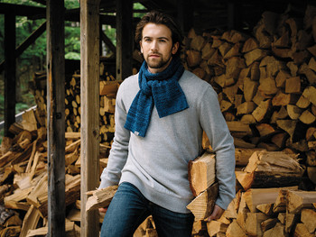 Model Image 45129 Roots73 Knit Scarf