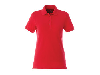 Team Red Elevate 96624 Belmont Women's Short Sleeve Polo Shirt