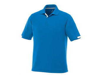 Olympic Blue/White Elevate 16209 Kiso Men's Short Sleeve Polo Shirt