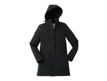 Black 99406 Elkpoint Roots73 Ladies Softshell