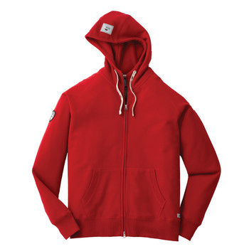 Cranberry - Roots73 18203 Riverside Full Zip Hoodie