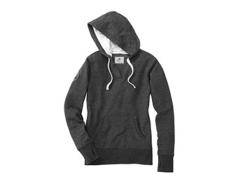 Black Smoke Heather 98703 Williams Lake Roots73 Women's Hoodie | Imprintables.ca