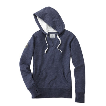 Ink Blue Heather 98703 Williams Lake Roots73 Women's Hoodie | Imprintables.ca