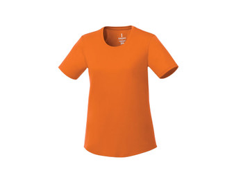 Orange Elevate 97885 Omi Women's Short Sleeve Tech T-Shirt
