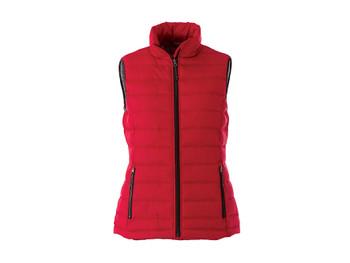 Team Red 99542 Mercer Women's Insulated Vest | Imprintables.ca