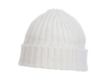 Winter White - Elevate 36003 Spire Knit Toque | imprintables.ca