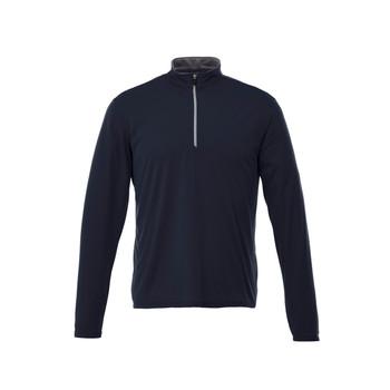 Navy - 18304 Vega Men's Tech Quarter Zip Sweater
