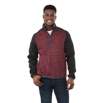 18611 Vorlage Men's Half Zip Knit Jacket