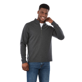 18612 Stratton Men's Knit Quarter Zip Sweater