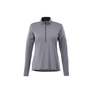 Steel Grey - 98304 Vega Women's Tech Half Zip Shirt