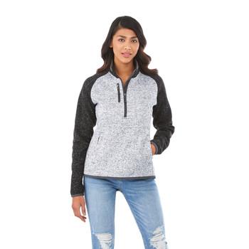 98611 Vorlage Women's Half Zip Knit Jacket