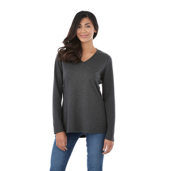 98614 Bromley Women's Knit V-Neck Sweater