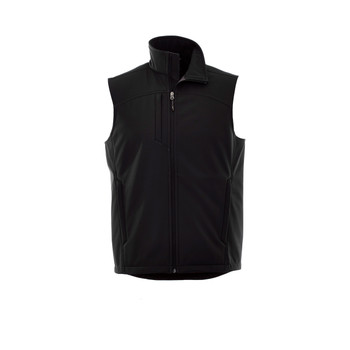 Black - 12501 Stinson Men's Softshell Vest