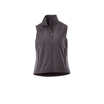 Grey Storm - 92501 Stinson Women's Softshell Vest