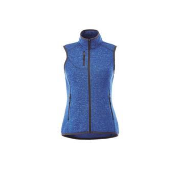 Metro Blue Heather - 92502 Fontaine Women's Knit Vest