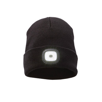 Black - 36109 Mighty Unisex Knit Toque