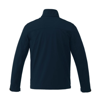 Navy, Back - 19534T Maxson Softshell Tall Jacket