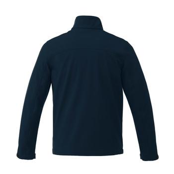 Navy, Back - 19534T Maxson Softshell Tall Jacket