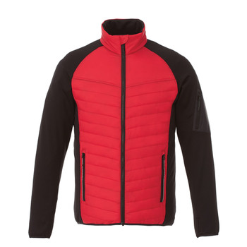 Team Red/Black - 19602 Banff Men's Hybrid Insulated Jacket