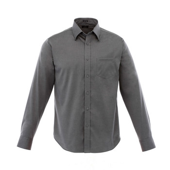 Grey Storm - 17309 Cromwell Men's Long Sleeve Shirt