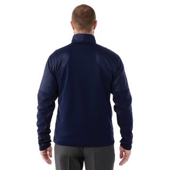 Vintage Navy, Model Back - Elevate 18154 Senger Knit Jacket | imprintables.ca