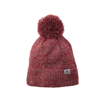 Dark Red Heather - Roots73 36108 Shelty Knit Toque | imprintables.ca