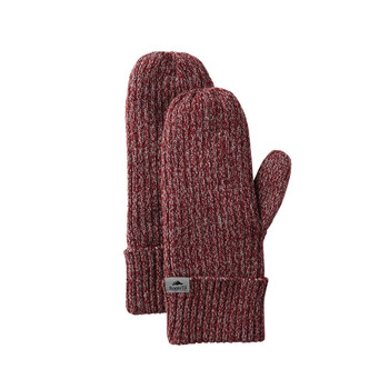 Dark Red Heather - Roots73 45133 Unisex Woodland Mittens | imprintables.ca