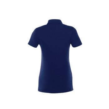 Vintage Navy, Back - 96224 Women's Acadia Short Sleeve Polo Shirt | imprintables.ca