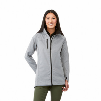 92962 Elevate Women's Bergamo Softshell Jacket | imprintables.ca