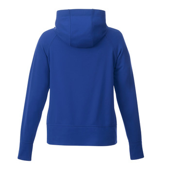 New Royal, Back - 98214 Elevate Women's Coville Knit Hoodie | imprintables.ca