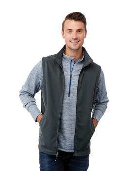 Grey Storm, Model - 18504 Elevate Men's Boyce Knit Vest | imprintables.ca