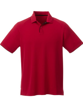 Team Red/Black - 16310 Elevate Men's Remus Short Sleeve Polo Shirt | imprintables.ca
