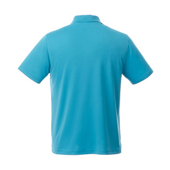 Aspen Blue - Back, 16311 Elevate Otis Short Sleeve Polo Shirt | imprintables.ca