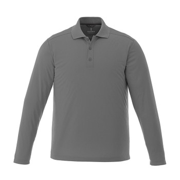 Steel Grey - 16704 Elevate Royce Short Sleeve Polo Shirt | imprintables.ca