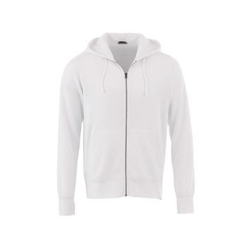 White - 18135 Elevate Cypress Fleece Zip Hoody | Imprintables.ca