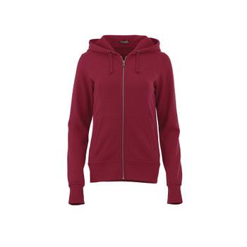 Maroon - 98135 Elevate Women's Cypress Fleece Zip Hoody | Imprintables.ca