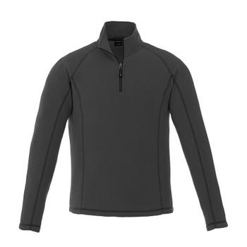 Grey Storm - 18308 Elevate Bowlen Polyfleece Quarter Zip Jacket | Imprintables.ca