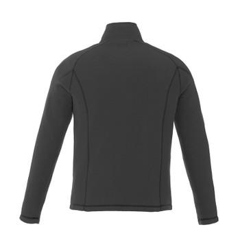 Grey Storm - Back, 18308 Elevate Bowlen Polyfleece Quarter Zip Jacket | Imprintables.ca
