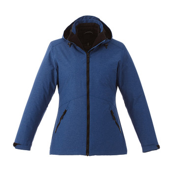 Metro Blue Heather - 99305 Elevate Delamar 3-in-1 Jacket | Imprintables.ca