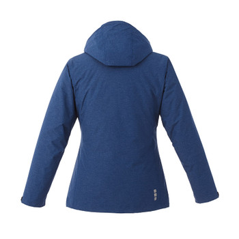 Metro Blue Heather - Back, 99305 Elevate Delamar 3-in-1 Jacket | Imprintables.ca