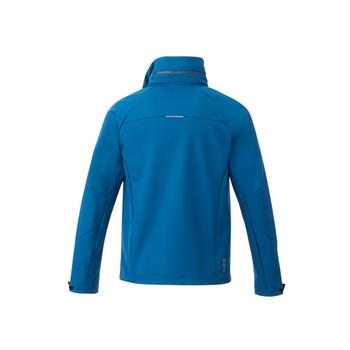 Invictus - back, 12907 Elevate Men's Peyto Softshell Jacket | Imprintables.ca