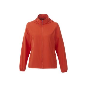 Saffron - 92608 Elevate Women's Toba Packable Jacket | Imprintables.ca