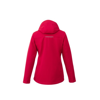Team Red - back, 99101 Elevate Women's Colton Fleece Lined Jacket | Imprintables.ca