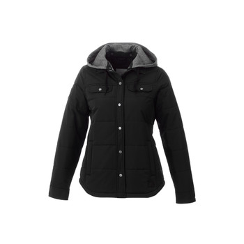 Grey Smoke - 99549 Roots73 Women's Swiftrapids Insulated Jacket | Imprintables.ca