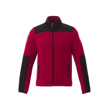 Dark Red/Black - 18155 Roots73 Men's Briggpoint Microfleece Jacket | Imprintables.ca