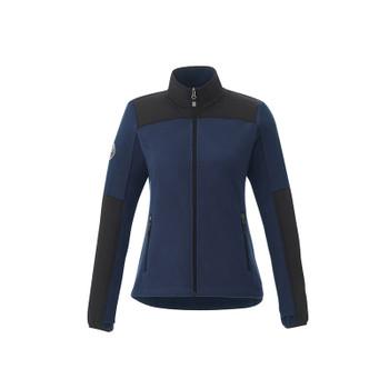 Atlantic Navy/Black - 98155 Roots73 Women's Briggpoint Microfleece Jacket | Imprintables.ca