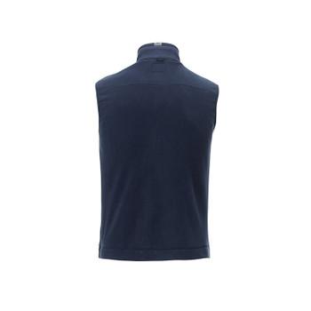 Atlantic Navy - back, 18505 Roots73 Men's Willowbeach Microfleece Vest | Imprintables.ca