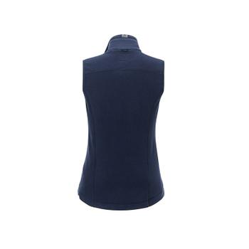 Atlantic Navy - back, 98505 Roots73 Women's Willowbeach Microfleece Vest | Imprintables.ca
