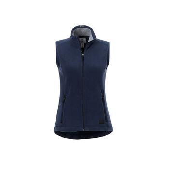 Atlantic Navy - 98505 Roots73 Women's Willowbeach Microfleece Vest | Imprintables.ca