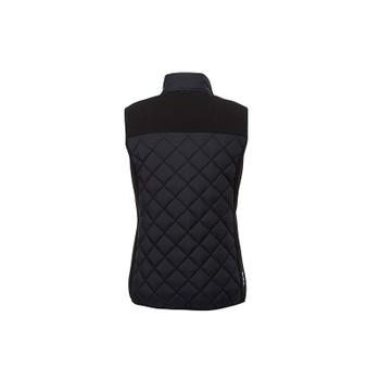 Black/Black - back, 99548 Elevate Womens Shefford Heat Panel Vest | Imprintables.ca